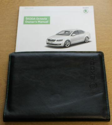 Skoda Octavia Iii Handbook Owners Manual Wallet 2012-2016 Pack 3479
