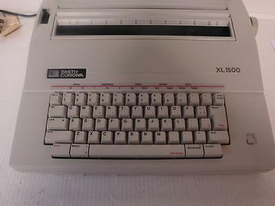 SMITH CORONA ELECTRIC TYPEWRITER MODEL No XL-1500.