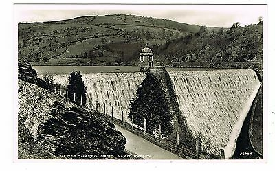 Real Photo Postcard - Pen-Y-Gareg Dam Elan Valley Rhayader - Radnorshire Wales