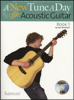 A New Tune A Day for Acoustic Guitar Book 1 & CD Learn to Play Beginner Method