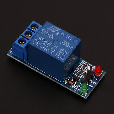1 Channel 5V Relay Module Shield for Arduino uno 1280 2560 ARM PIC AVR DSP