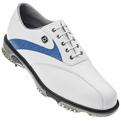 Footjoy Mens Dryjoy Tour Golf Shoes - New Waterproof Fj Wp Leather Performance