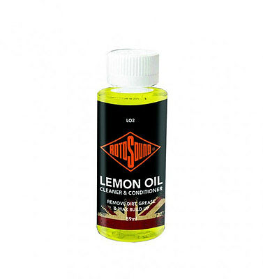 Rotosound LO2 Guitar Neck Care Lemon Oil 59 ML Bottle