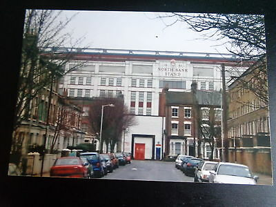 """ARSENAL HIGHBURY  NORTH BANK STAND from outside  6""""x4""""  REPRINT"""