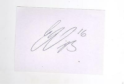 Celtic Gary McKay Steven HAND SIGNED card
