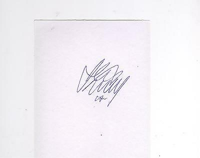 Motherwell Keith Lasley HAND SIGNED card