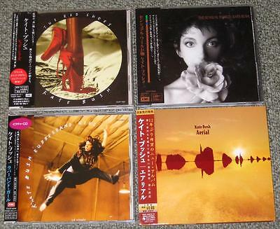 Japan PROMO issue CD x 4 set KATE BUSH with obi inc 2CD all COMPLETE near mint!