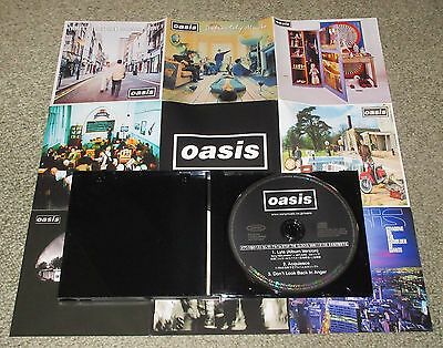 OASIS Japan PROMO ONLY CD special jewel case COMPLETE Beady Eye NOEL GALLAGHER
