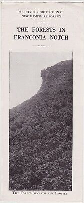 1920's The Forests In Franconia Notch Brochure