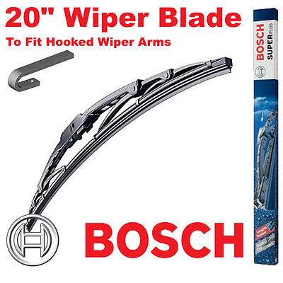 "Bosch 20"" Inch Super Plus Universal Wiper Blade SP20 For Hooked Wiper Arms"