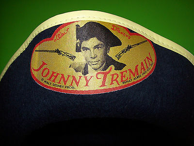 Disney Scarce 1950s 1960s Disneyland JOHNNY TREMAIN Pirate Costume Souvenir Hat