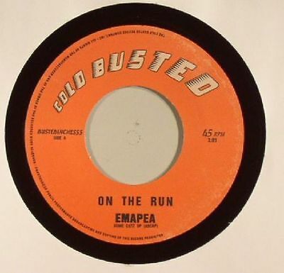 """EMAPEA - On The Run - Vinyl (hand-numbered 7"""" limited to 250 copies)"""
