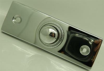 Polished Chrome Bell Push For Battery Wired Door Bells & Transformer Systems