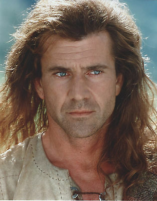 Mel Gibson Braveheart 8 X 10 Photo With Ultra Pro Toploader