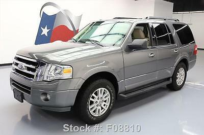2012 Ford Expedition King Ranch Sport Utility 4-Door 2012 FORD EXPEDITION XLT 8-PASSENGER 3RD ROW TOW 58K MI #F08810 Texas Direct
