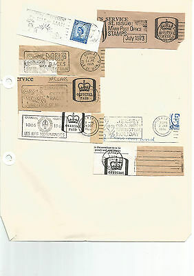 ISLE OF MAN AND JERSEY SLOGAN POSTMARKS 1960's & 70's