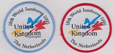 18th World Scout Jamboree Contingent and official Souvenir badge