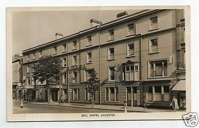 DWG Early Postcard, Bell Hotel, Leicester