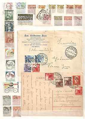 ITALIE.Lot timbres
