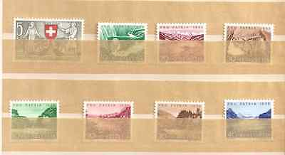 SUISSE.Lot timbres neufs
