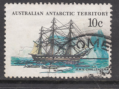 AUSTRALIA ANTARTIC TERRITORY 1976 10c Ship VERY FINE USED(a3)