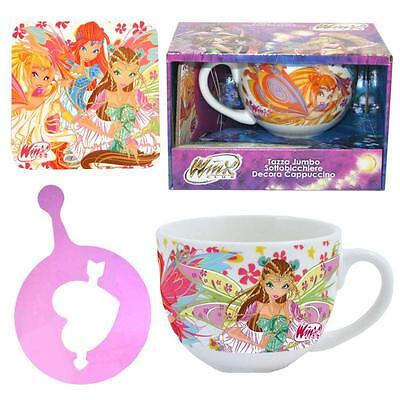 Winx Club - Cappuccino Cup Mug & Accessory in gift pack