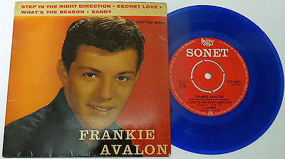 """7"""" Single Ep """"frankie Avalon"""" Step In The Right Direction"""