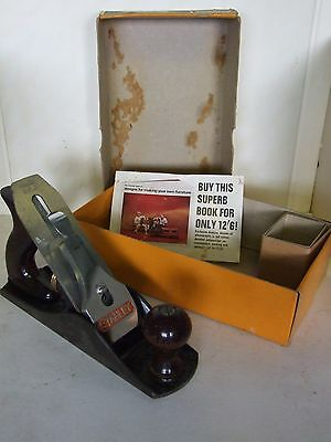 Vintage Stanley No 4 Smoothing Plane Boxed
