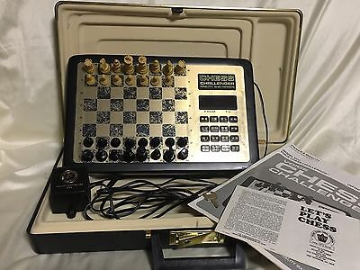 Vtg. Fidelity Electronic Chess Challenge Computer Game Voice Advanced Complete