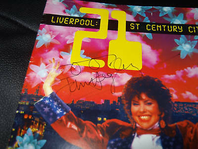 John Hegley Signed Liverpool 21 Cover From 1992