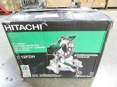 Hitachi Dual Compound Miter Saw with Laser Marker 12in. C12FDH
