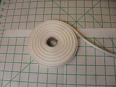 "10 Yard Lot 1"" Wide White Nylon Webbing Strapping Straps Handles Tie-Down"