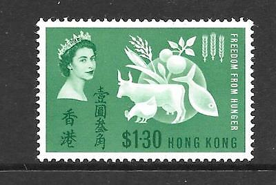 """HONG KONG : 1963 """"Freedom From Hunger"""" -  MNH condition"""