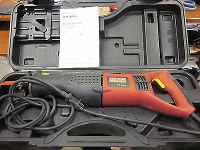 Craftsman Variable Speed Reciprocating Saw Double Insulated Model# 172.26672