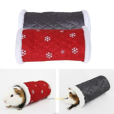 Small Animal Pet Warm Tunnel Toy Cute Pet Bed House for Rabbit Ferret Hamster
