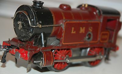 HORNBY SERIES O GAUGE No 1 SPECIAL TANK LOCO IN LMS RED LIVERY