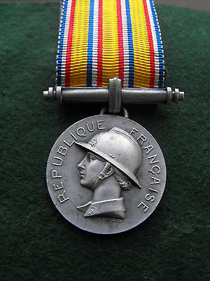 French fire Brigade Long Service Medal