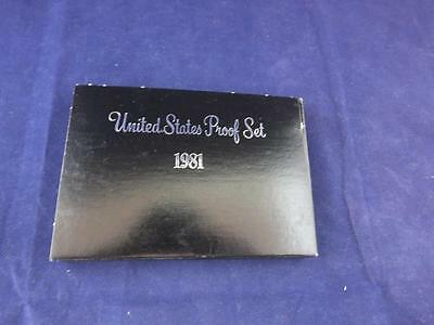 United States Proof Coin Year Set 1981.