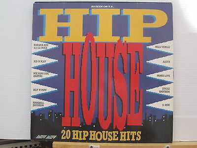 Hip House-20 Hits-Adeva/DMob/Jungle Bros-Salt N Pepa-Vinyl Lp-Free UK Post
