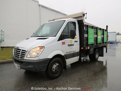 2007 Freightliner Sprinter 3500 Stakebed Truck Mercedes Diesel A/T Tommy Gate