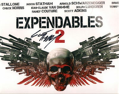 "Scott Adkins signed autograph on a 10x8"" Expendables photo !"