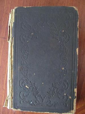 1849 Stereotype Ed. Illustrations of the Law of Kindness Book By Rev Montgomery