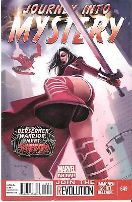 Journey into Mystery #649 April 2013 Lady Sif Meets Superior Spider-man Asgard!!