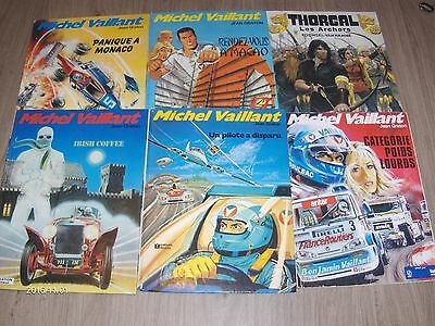 Lot De 6 Bd Michel Vaillant Dont 1 Bd Thorgal Quelques Eo