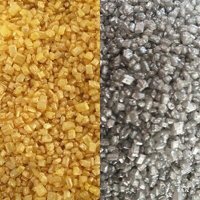 30g Glimmer Glitter Gold Silver Sugar Sand Cake Sprinkles Decorations