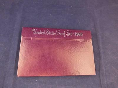United States Proof Coin Year Set 1986.