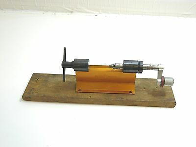 Vintage Forster Appelt Case Trimmer In Orange For Reloading