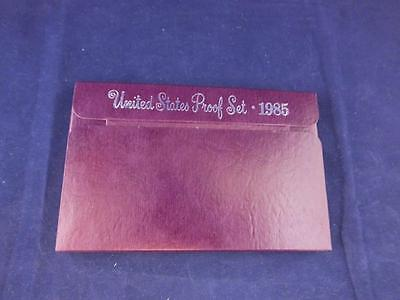 United States Proof Coin Year Set 1985.
