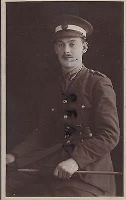 WW1 Officer Cadet serving with the Royal Engineers RE