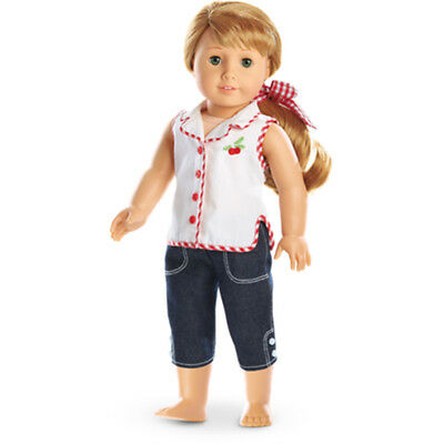 "American Girl MARYELLEN CHERRY OUTFIT IN BAG for 18"" Doll (Play Outfit) NEW"